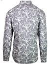 PRETTY GREEN 1960's Mod Signature Paisley Shirt Gr
