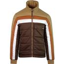 pretty green quilted reversible puffa jacket sand