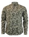 pretty green ryder shirt khaki mod