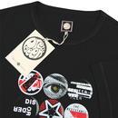 PRETTY GREEN 90's Indie Britpop Badge Print Tee