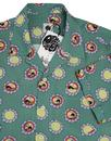 PRETTY GREEN x THE BEATLES 60s Flower Faces Shirt