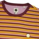 PRETTY GREEN Men's Mod Feeder Stripe T-Shirt