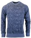 REALM AND EMPIRE BOSWORTH RETRO TYRE PRINT SWEAT