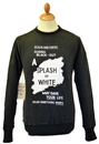 REALM & EMPIRE SPLASH OF WHITE SWEATER RETRO