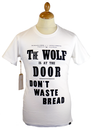 REALM & EMPIRE WOLF IS AT THE DOOR WAR T-SHIRT