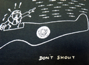 Don't Shout REALM & EMPIRE Retro WWII Cartoon Tee