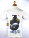 Full Ahead REALM & EMPRE Retro Military Poster Tee