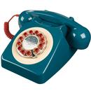 Retro Mod Target 746 Telephone 60s GPO Phone Blue