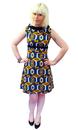 Ace Retro Dress MADCAP ENGLAND Geometric Mod Dress