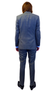 Retro Sixties 2 Button Slim Fit Mod Check Suit (G)