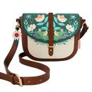 Disaster Designs Secret Garden Fox Saddle Bag Handbag