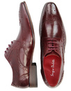 Vito SERGIO DULETTI Retro Sixties Brogues - Wine