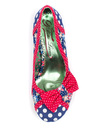 Shake It POETIC LICENCE Vintage Polka Dot Heels