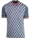 ska and soul checker front oxford pique t-shirt