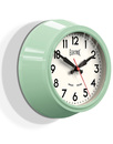 Newgate clocks small electric clock green