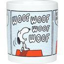 Peanuts Snoopy Bark Comic Strip Retro Mug