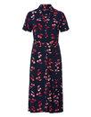 Kendra SUGARHILL BOUTIQUE Retro Cherry Shirt Dress