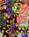 Gloria SUGARHILL BOUTIQUE 60s Peacock Print Dress