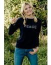 Rita SUGARHILL BOUTIQUE Retro Peace & Love Jumper