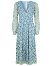 Mama Mia TRAFFIC PEOPLE 60s Floral Lace Mid Dress