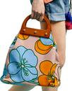 Traffic People Retro 60s Bold Flower Power Bag