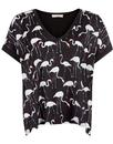 Traffic People Retro 80s Flamingo Tee T-Shirt