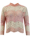 traffic people forgotten modesty floral lace top