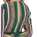 Mama Mia TRAFFIC PEOPLE Retro 70s Shift Dress