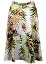 Hawaiian Leopard TRAFFIC PEOPLE Circle Skirt