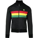 trojan records rasta stirpe panel track top black