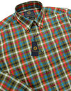 VIYELLA Mod Country Check Cotton Wool Blend Shirt