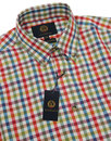 VIYELLA Retro Herringbone Check Button Down Shirt