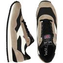 Ensign WALSH Made in England Retro Trainers B/T/W