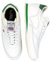 walsh la 84 retro made in england trainers white