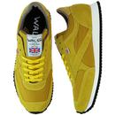 Tornado WALSH Made in England Retro Trainers GOLD