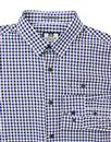 Dillon WEEKEND OFFENDER Retro Mod Gingham Shirt