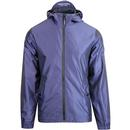 weekend offender armstrong lightweight hooded jacket navy