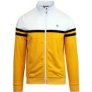 weekend offender moore contrast panel track top white yellow