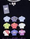 Shirts WEEKEND OFFENDER 80s Retro Football Kit Tee
