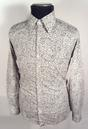 SIXTIES MOD RETRO PSYCHEDELIC PAISLEY SHIRT MADCAP