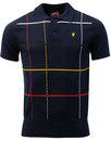 wigan casino northern soul 70s mod check knit polo