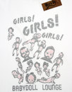 Girls Girls Girls WORN BY Retro Keith Richards Tee
