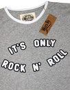 It's Only Rock & Roll WORN BY Womens Retro Tee
