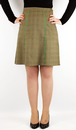 Billy WOW TO GO Retro 70s Mod A-Line Skirt