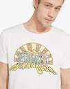 Wrangler Jeans retro 70s psychedelia T-Shirt