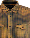WRANGLER Retro 2 Pocket Gingham Check Shirt