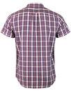 WRANGLER Retro Check Short Sleeve Western Shirt