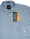 WRANGLER Retro Button Down 1 Pocket Chambray Shirt
