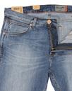 Greensboro WRANGLER Mod Straight  Leg Denim Jeans