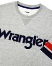 WRANGLER Retro Seventies Logo Applique Sweater